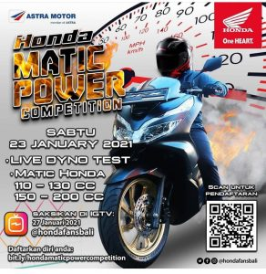 Honda Matic Power Competition