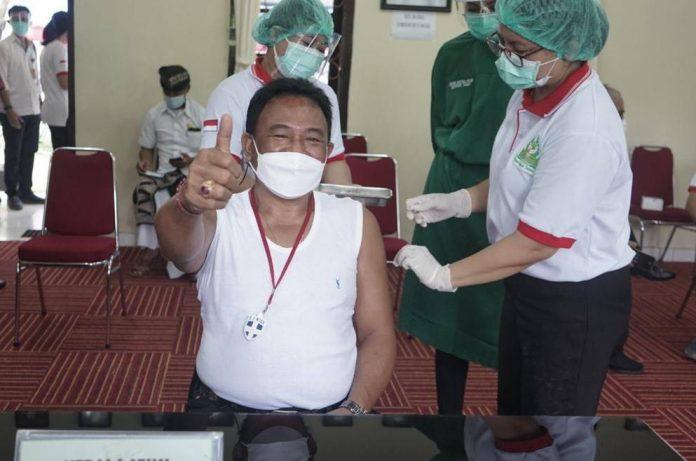 Vaksin Covid-19 di Denpasar