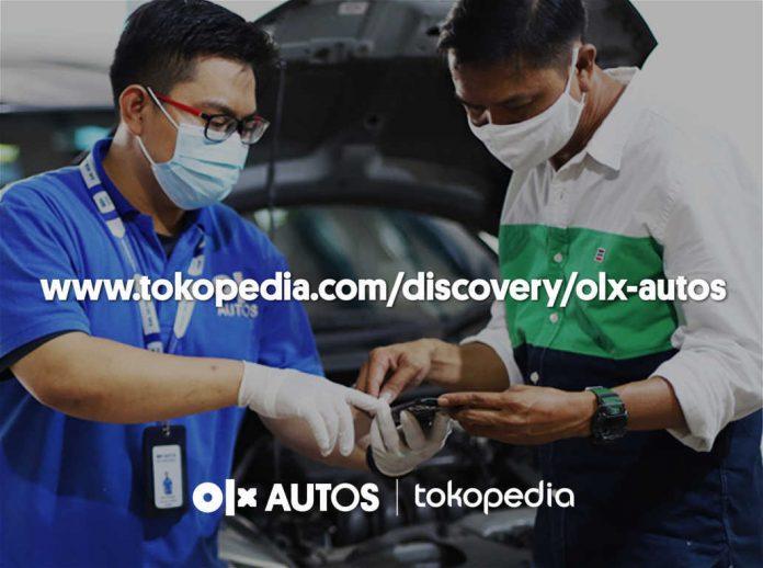 OLX Autos dan Tokopedia