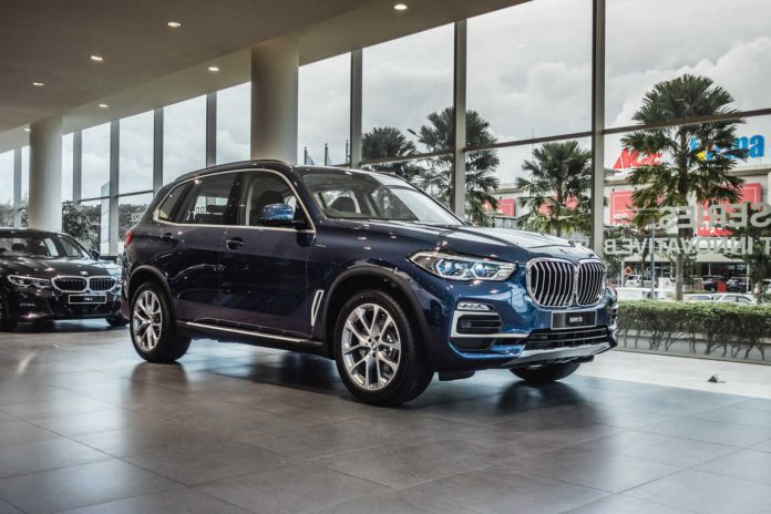 New BMW X5 xDrive40i xLine