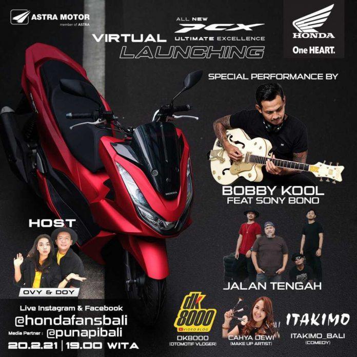 Virtual Launching All New Honda PCX160